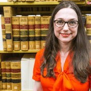 Profile Photo of Government Documents Librarian Sarah Erekson
